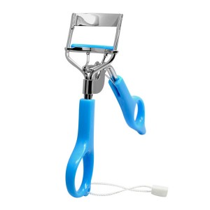eyelash curler with plastic handle,Silicone Pad,chromeplate,JC13001-18