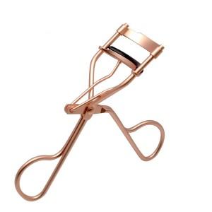 eyelash curler,Silicone Pad,Matte rose pearl gold,JC13003-8