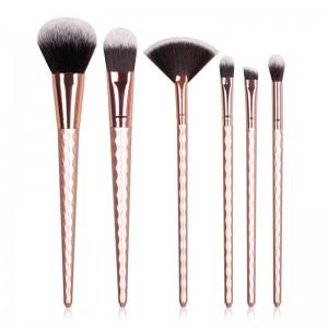 6pcs Hair Unicorn Cosmetic Make Up Brushes Set-JC14003-9