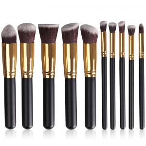 10PCS Professional Makeup Brush Set-JC14006