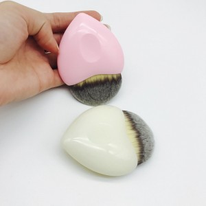 New Single Sweet Heart Shape powder makeup brushes used for foundation BB cream Liquid powder-JC14102