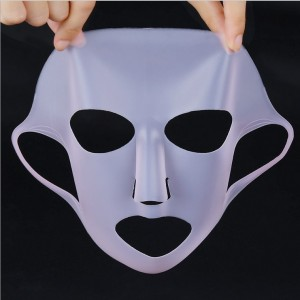 Top quality non smell easy to clean high quality female silicone face mask silicone facial mask-JC18001