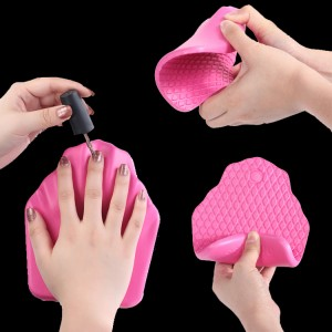 Nail Art Pillow Hand Holder Silicone Cushion Pillow Nails Arm Rest Cushion-JC44005-1
