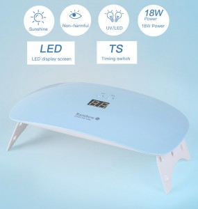 UV Lamp, 18W LED UV nail dryer curing lamp-JC44007-1