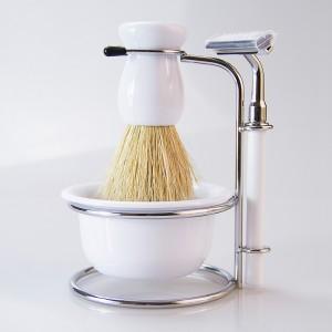 Best Men's Gift Shaving Brush Set-JC51204